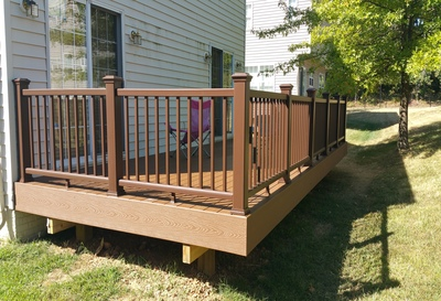 Deck Installation Samples